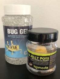 bug gel jelly pots